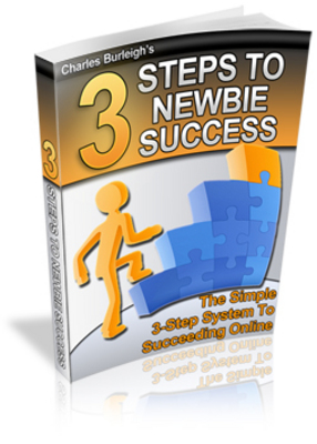 Product picture 3 steps to newbie success