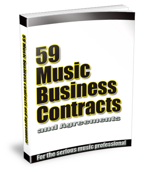 Product picture 59 Music business contracts.zip