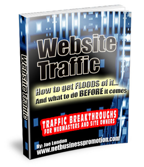 Product picture Website Traffic - How to get FLOODS of it...